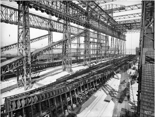 Construcci n paso a paso del titanic paperblog - Construccion del titanic ...