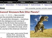 Química, dinosaurios alienígenas noticias basura