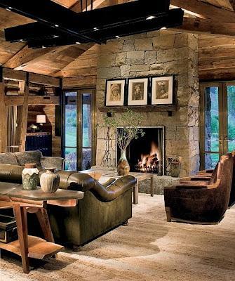 Rancho rustico en colorado usa paperblog - Ranch house living room decorating ideas ...