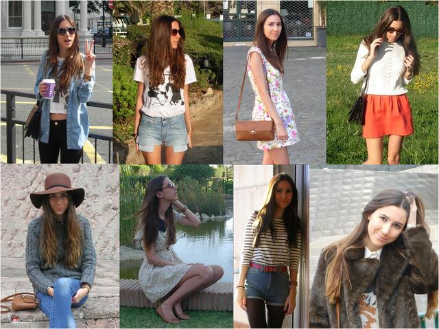 Silvia's daily closet