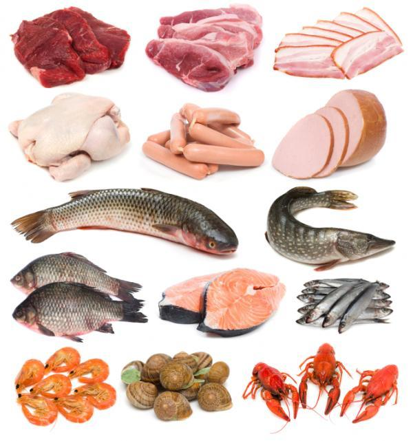 Alimentos ricos en vitamina b paperblog for Cholesterol in fish chart