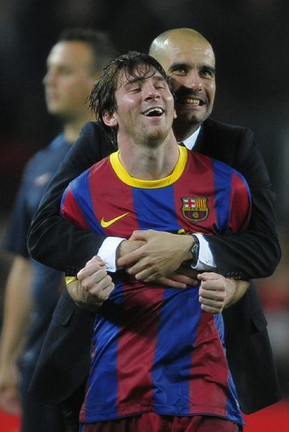 Lionel Messi, de niño