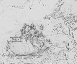 Curso de Ilustración y Fondos (Backgrounds) con Nelson Luty