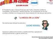 "Lucho Rossell mosca sopa"" inaugura Trujillo,"