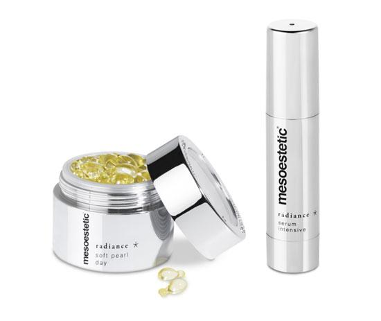 productos Radiance de Mesoestetic