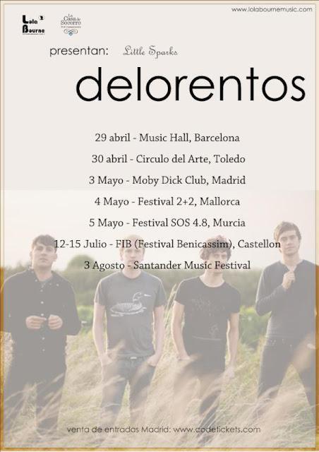 Gira de Delorentos por España