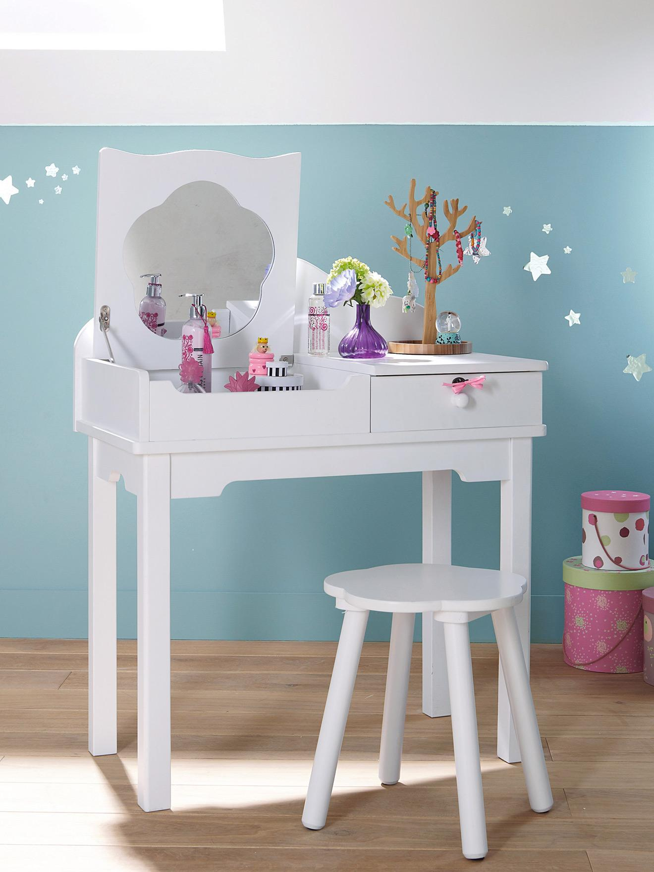 Tocador escritorio para ni as paperblog - Tocador con espejo y luces ...