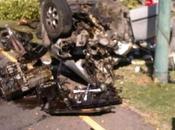 MILAGRO: jóvenes salen ilesos aparatoso accidente