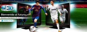 Barcelona Vs Real Madrid en ¡3D!