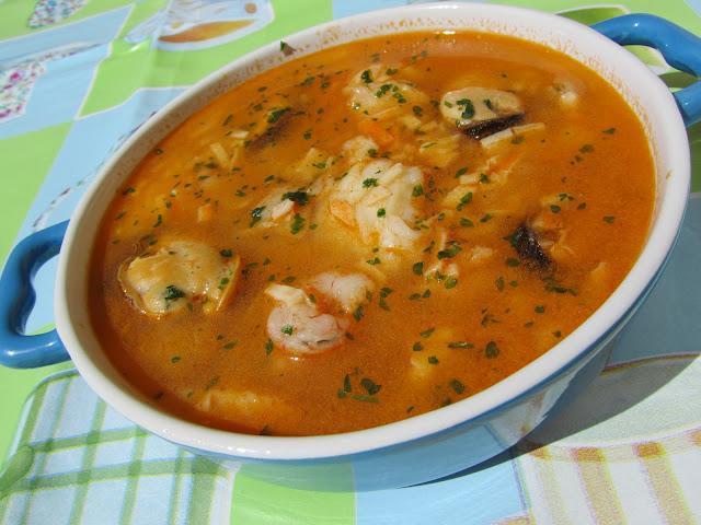 Sopa de pescado r pida y econ mica paperblog - Sopa de marisco y pescado ...