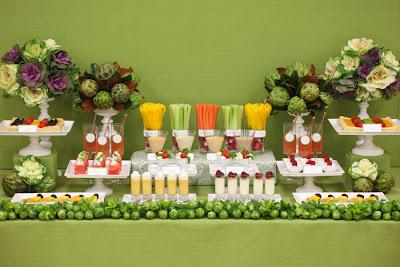 Buffet de ensaladas: Ideas