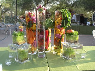 Buffet de ensaladas ideas paperblog - Decoracion de ensaladas ...