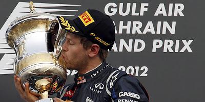 Vettel vuelve a ganar en la revolución de Lotus en Bahréin