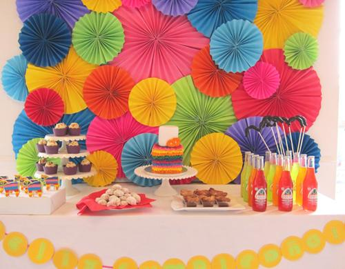 Lunes mesas de dulces fondos duros paperblog for Backdrop para mesa de dulces