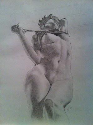 dibujos a lapiz de prostitutas protituta