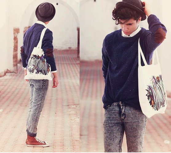 INSPIRATION ON WEDENESDAY #13 CON LA BOLSA DEL SUPERMERCADO