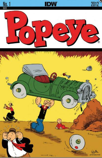 Popeye regresa al comic book, vía IDW