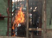 Motín Fortaleza Romana, presos incendian celda