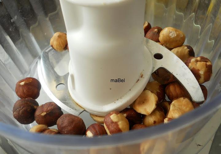 Galletas rellenas de Nutella