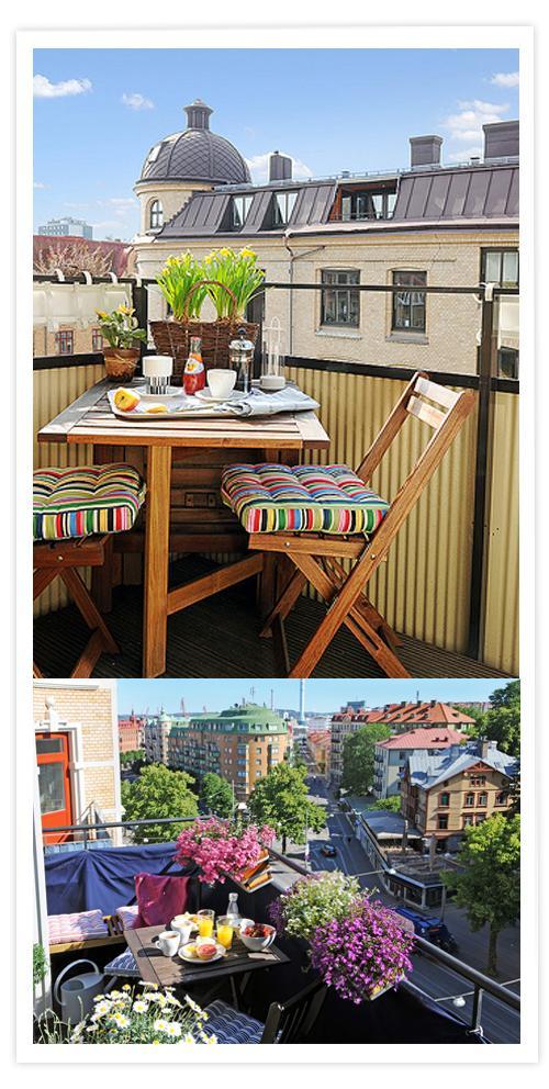 As mate al balc n paperblog for Mobiliario balcon