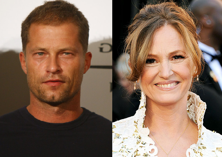 Melissa Leo y Til Schweiger en The Necessary Death of Charlie Countryman