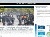 Cómo algunos medios país publican violencia fútbol cuando protagonista Buenos Aires