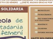 """Campaña Solidaria """"Escola Ciutadanía Femení María Moliner ERES"""