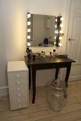 Cu l es tu estilo de tocador ideal paperblog - Espejo con bombillas ikea ...