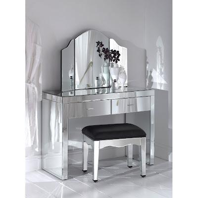 tocador con superficies de espejo de homesdirect