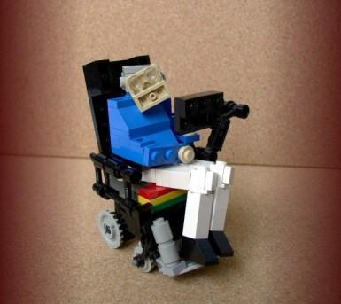 Lego no podía faltar en este homenaje.