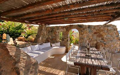 Pergolas rusticas griegas paperblog for Imagenes de terrazas rusticas