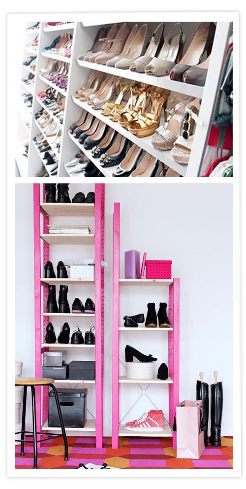 Dales a tus zapatos el espacio que se merecen paperblog - Estanteria zapatero ikea ...