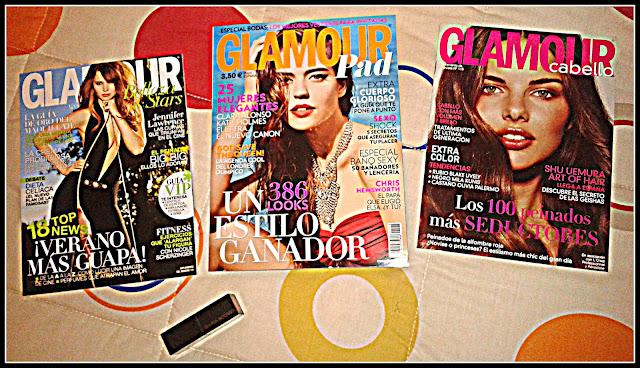 GLAMOUR mes de MAYO 2012