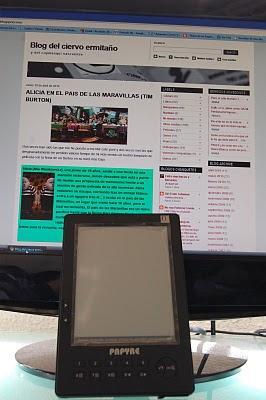 Mi experiencia con un libro electrónico