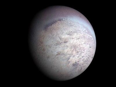 Nuevo estudio de la atmósfera de Tritón proporciona interesante información