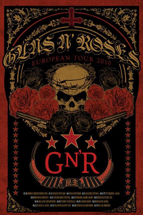 Guns N´ Roses vienen de Tour este verano por Europa