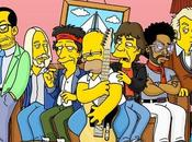 Simpson, años Rock: Mick Jagger, Keith Richards, Elvis Costello, Lenny Kravitz, Brian Setzer Petty