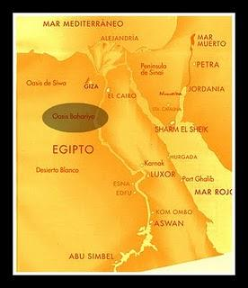 Momia enana encontrada en Egipto