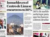 Tasa Interés Baja culpa Morosidad Alta? efecto Estructura Bancaria Perú.
