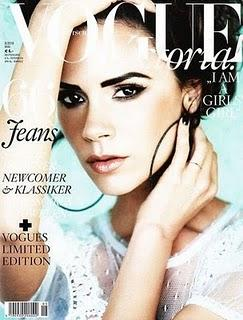 Victoria Beckham portada de Vogue Alemania, Mayo 2010. Victoria Beckham for Vogue Germany, may 2010