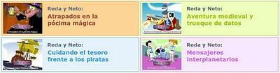 Episodios animados para la formación y la sensibilización de los menores ante Internet