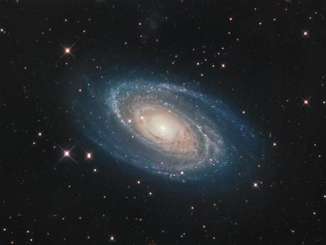 El halo de M81 arroja evidencia sobre la formación de galaxias