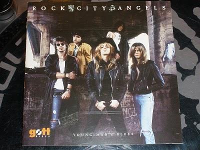 Rock city angels Young man's blues el disco maldito