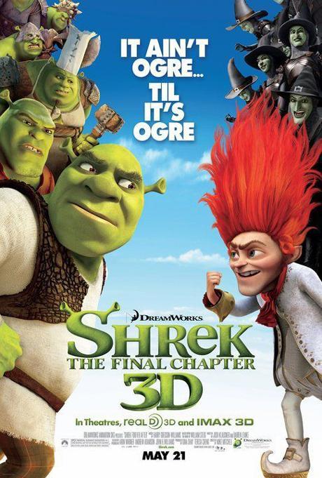 """""""Shrek 4″ sigue ofreciendo carteles"""