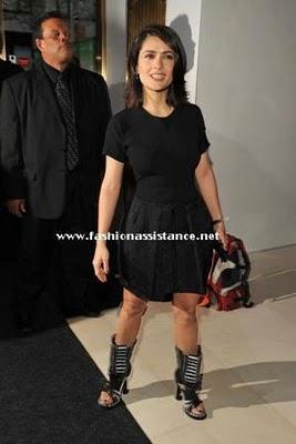 Salma Hayek y sus botas de 4.300 euros