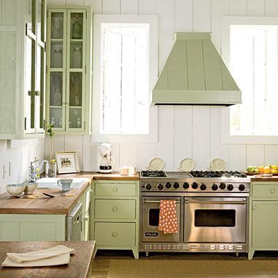Cocinas estilo rústico o campestre