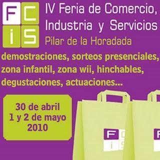 Pilar de la Horadada: IV feria de comercio, industria y servicios 2010