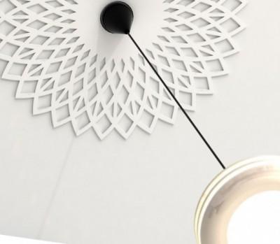 Una moldura falsa para el techo paperblog - Molduras de escayola para techos ...