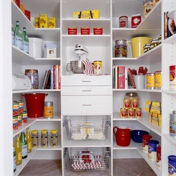 organizacion, gaveta, cocina, despensa, blanca