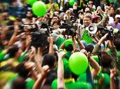 Colombia: verde Mockus